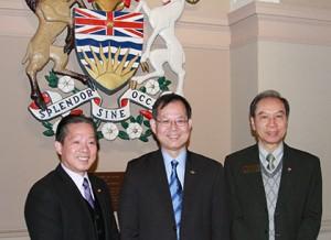CFCC Directors at BC Parliament Hosue -  MAR2014