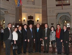 CFCC Directors at BC Parliament Hosue MAR2014