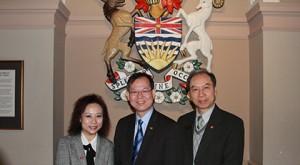 CFCC Directors at Parliament Hosue BC -  11MAR2014