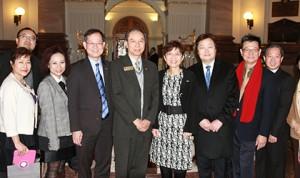 CFCC Directors with Minister Teresa Wat at MLA Bldg MAR2014